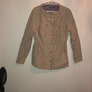 taupe Columbia jacket